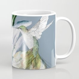 Hummingbird with Flowers Coffee Mug