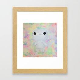 baby baymax Framed Art Print