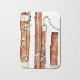Bassoon Bath Mat
