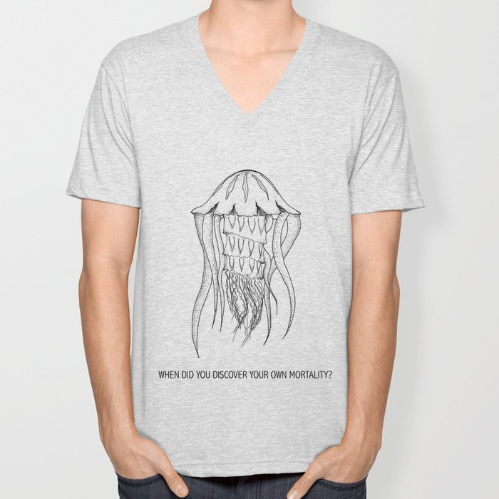 Mortality Unisex V-Neck