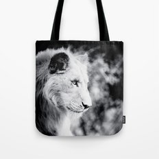 Seated Lion Tote Bag