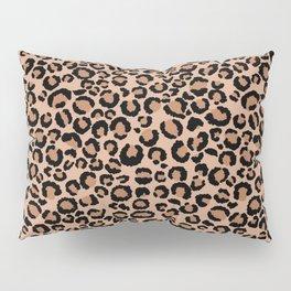 Tan Leopard Print Pillow Sham