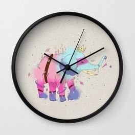 SPACE ELEPHANT Wall Clock