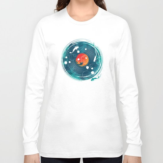 Sound of Water Long Sleeve T-shirt