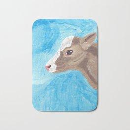 A Heifer Calf Named Keely Bath Mat