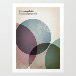 The Colored Dots Art Print