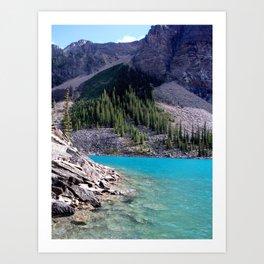 Moraine Lake, View 2, Banff Art Print