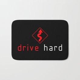 Drive Hard v1 HQvector Bath Mat