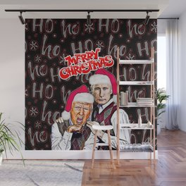 Merry Christmas From Trump And Putin Wall Mural