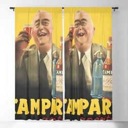 1938 Campari Italian Bitters Aperitif Vintage Advertising Poster Blackout Curtain