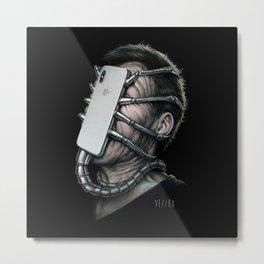 Xenomorphone Metal Print