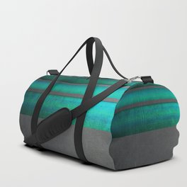 """""""Architecture, cement texture & colorful II"""" Duffle Bag"""