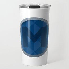 M Logo Travel Mug