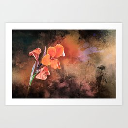 Orange Blossom Special Art Print