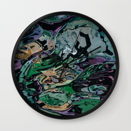 The hulk exploded Wall Clock