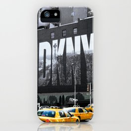 Yellow Cab iPhone Case