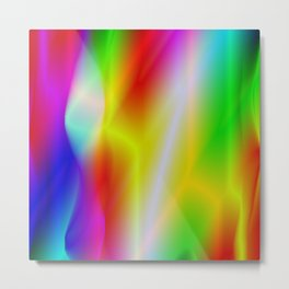 A very beautiful product in rainbow colors! Perfect for people who love colorful Metal Print