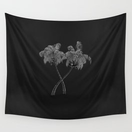 Silver Palms Wall Tapestry