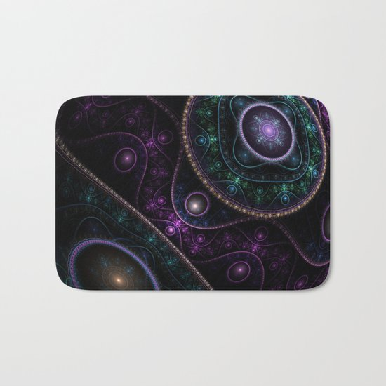 Magic sphere Bath Mat