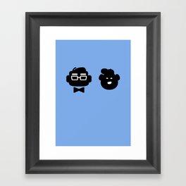 mr. fredricksen & russell Framed Art Print
