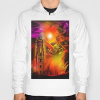 romance Hoodies featuring Lighthouse romance by Walter Zettl