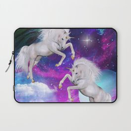 space unicorns v Laptop Sleeve