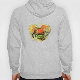 Green Heart Frog Hoody