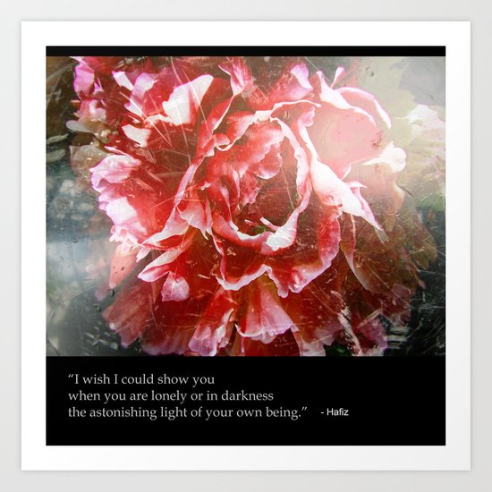 I Wish I Could Show You... Art Print