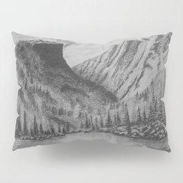 Mountain in Pencil Pillow Sham