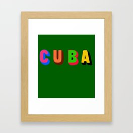 Cuba 2 Framed Art Print