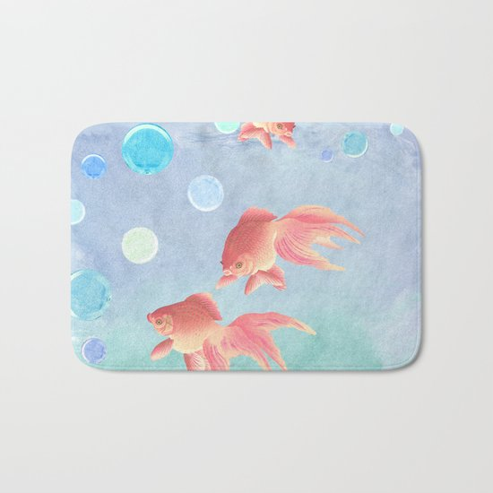 Around the bowl in Eighty seconds Bath Mat