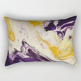 """Geaux Tigers"" by Laurie Ann Hunter Rectangular Pillow"