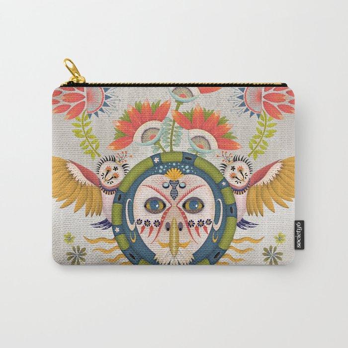 Inca Owl Carry-All Pouch