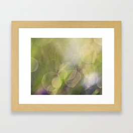 Spring Drops Framed Art Print