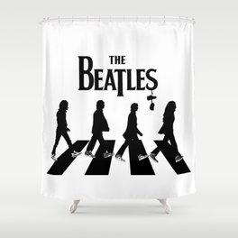 Abbey Road Retro Shower Curtain