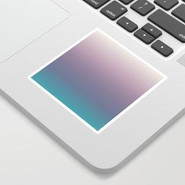 Ombré, Purple, Blue, Green, Pink, Teal, Color Blend Sticker