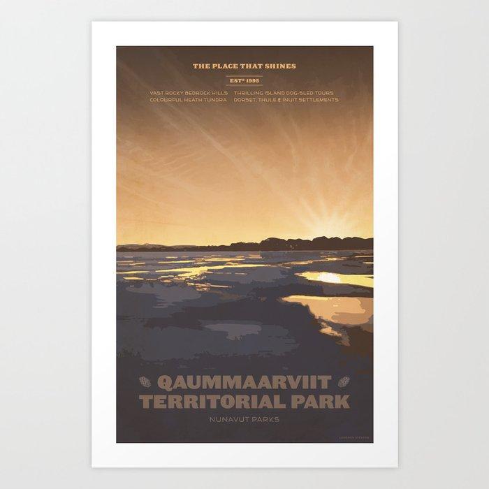 Qaummaarviit Territorial Park Art Print
