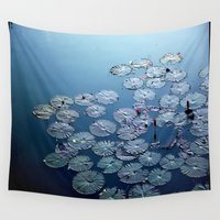 zen Wall Tapestries featuring Zen by Mamzellemo