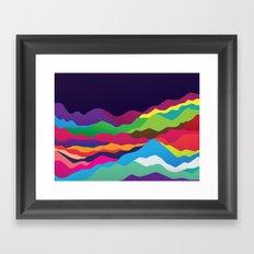 Mountains of Sand Framed Art Print