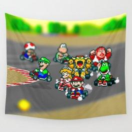 Mario Circuit Wall Tapestry
