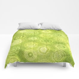 The Appearance of Fine Limes Comforters