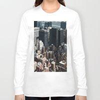 vertigo Long Sleeve T-shirts featuring Vertigo by Francois Guerin