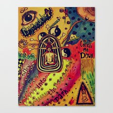 Spread the color Canvas Print