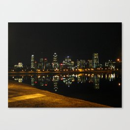 Montreal before the condos Canvas Print