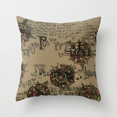 Quotes Throw Pillow