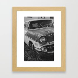 Rusty BelAir Framed Art Print
