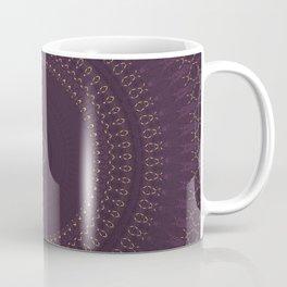 Merlot Gold Mandala Coffee Mug