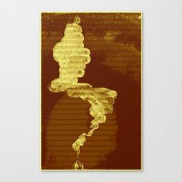 No Smoke Without Fire Canvas Print