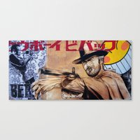 bebop Canvas Prints featuring Cowboy Bebop by Mark Matlock
