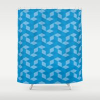 escher Shower Curtains featuring Escher #006 by rob art | simple